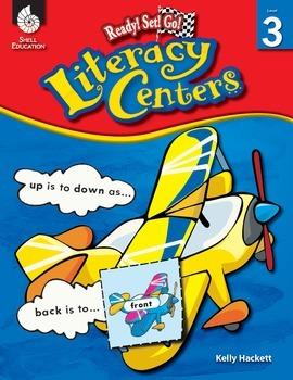 Ready! Set! Go! Literacy Centers: Level 3 (eBook)
