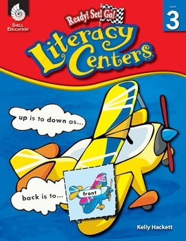 Ready! Set! Go! Literacy Centers: Level 3 (eBook)