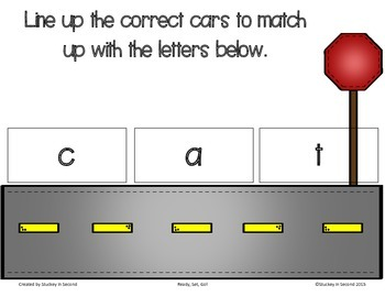 Ready, Set, Go! Preschool Letter and Number Matching