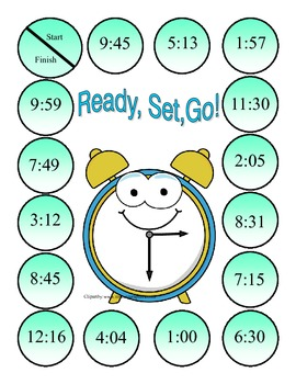 Ready, Set, Go! (Time Games)