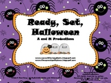 Ready, Set, Halloween (easy assembly version)