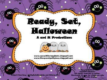 Ready, Set, Halloween (manipulative version)