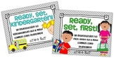 Ready, Set, Kindergarten/First BUNDLE {intro to K-1 ELA & Math CC Standards}