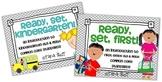 Ready, Set, Kindergarten/First BUNDLE {intro to K-1 ELA &