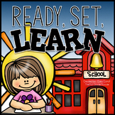 Ready, Set, Learn! {Back To School Math & Literacy Activities}
