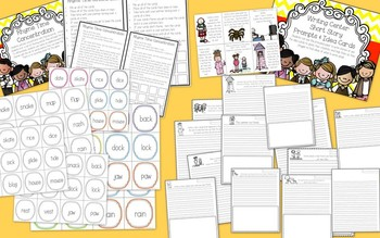 Ready, Set, Learn Literacy Centers for Back to School {Built in Differentiation}