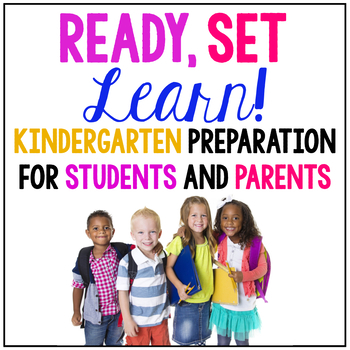 Ready, Set, Learn! {Magazine for Parents with Kids Entering Kindergarten}