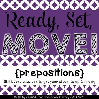 Ready, Set, MOVE! {Prepositions}