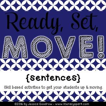 Ready, Set, MOVE! {Sentences}