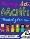 First Grade Math Centers BUNDLE