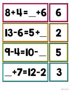 First Grade Math Centers for Month 10 or Summer School