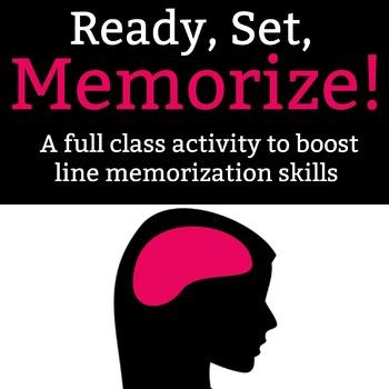 Ready, Set, Memorize!