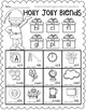 Ready, Set, Print: December Math and Literacy Printables