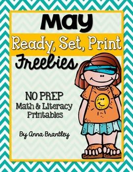 Ready, Set, Print: May FREEBIE Printables