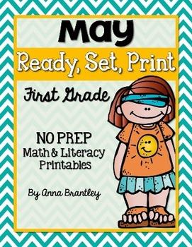 Ready, Set, Print: May Math and Literacy Printables