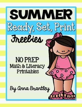 Ready, Set, Print: Summer Freebie Printables