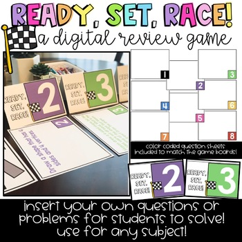 Ready, Set, Race! A Digital Learning and Review Game!