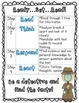 Ready, Set, Read!  Analyzing Text Poster and Notes Page