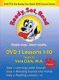 DVD 1 in the Ready, Set, Read: DVD Lesson Series, Lessons 1-10