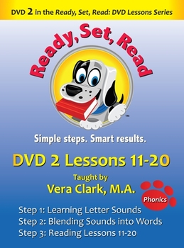 DVD 2 in the Ready, Set, Read: DVD Lesson Series, Lessons 11-20