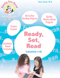 Ready, Set, Read: Lessons 1-10