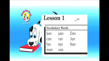 "Ready, Set, Read: Video Bundle, Lessons 1-5 Short A ""an"" ""at"" ""ad"" ""ag"" ""ap"""