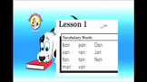 "Ready, Set, Read: Video Bundle, Lessons 01-05 Short A ""an"" ""at"" ""ad"" ""ag"" ""ap"""