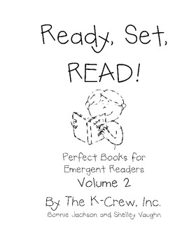 Ready, Set, Read!  Vol. 2..Emergent Readers for the Fall