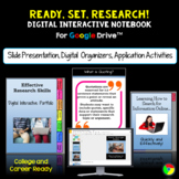 Teaching Research Skills: Google Classroom Digital Interactive Notebook