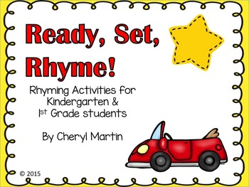 Ready, Set, Rhyme! Activities for Back to School