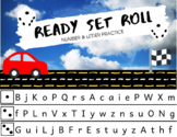 Ready Set Roll - Letter & Number Fluency Practice