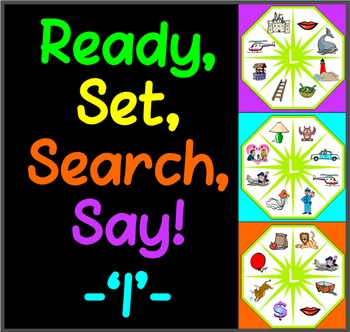Ready, Set, Search, Say! – 'L' –  articulation / speech therapy game