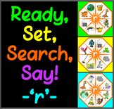 Ready, Set, Search, Say! – 'r' –  articulation / speech therapy game