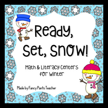 Ready, Set, Snow! Math and Literacy Winter Activities