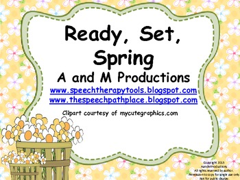 Ready, Set, Spring (Easy Assembly Version)