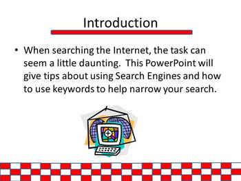 Ready Set Start Your Engines - Internet Search Activity