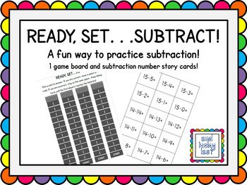 Ready, Set...Subtract!