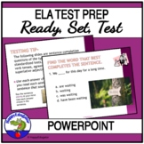 TEST PREP - Language Arts Test Practice Interactive PowerPoint