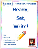 Sample: Ready, Set, Write! Activities & Prompts
