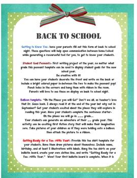 Ready Set Write Primary Back to School