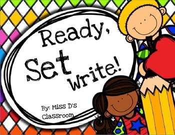 Ready, Set, Write! Writing Prompt Worksheets