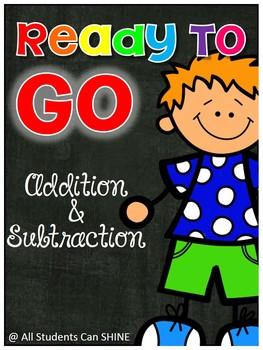 Addition & Subtraction No Prep