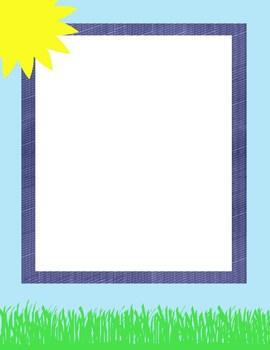 Ready To Go Spring Sun and Grass Cover Page