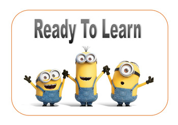 Ready To Learn Minion Poster