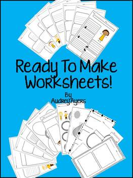 Ready To Make CUTE Graphic Organizers and Worksheets! Comm