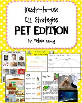 Ready-To-Use ELL Strategies:   PET EDITION