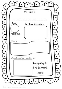 Ready for Big School (Parent Resource)