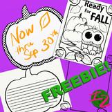 Ready for Fall Freebie