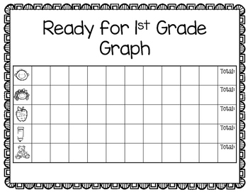 Ready for First Grade Crowns and Graph
