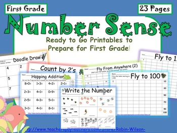 Number Sense Count to 120, Count by 2, Simple One Digit Ad